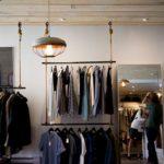 Stojak na ubrania do sklepu regulowany typ 08R